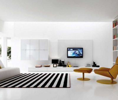 Uncluttered home looks empty by MATUOG