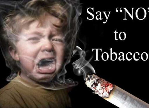 "Reasons to Say ""NO"" to Tobacco"